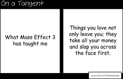 On a tangent - Mass Effect